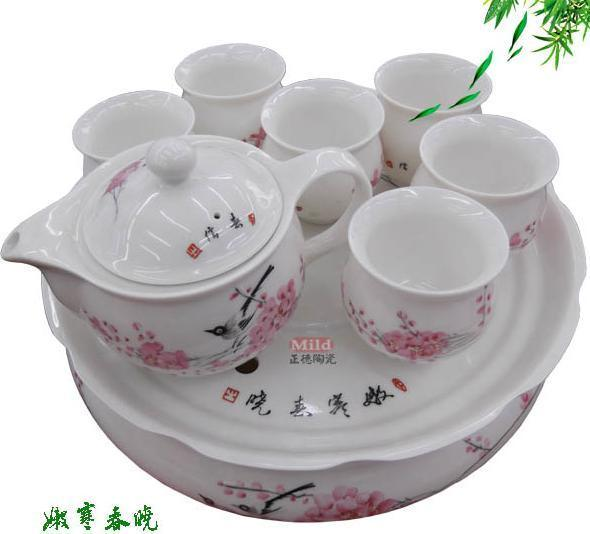 陶瓷茶具花面设计