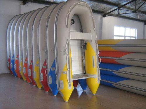 充气船艇与木质,铝合金,玻璃钢小艇比较,充气艇可拆解储存和灵活