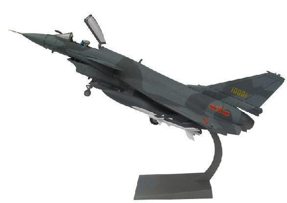 歼十仿真飞机模型批发