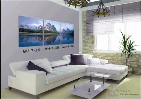 风景印象无框装饰画(mh-7(34-36))