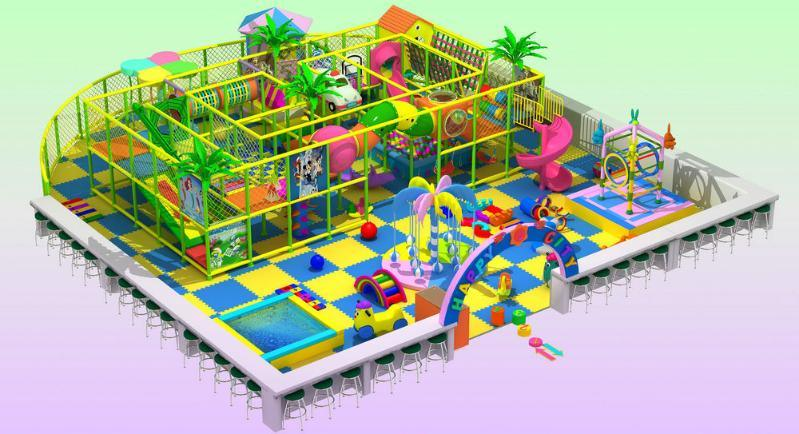 室内淘气堡,儿童乐园