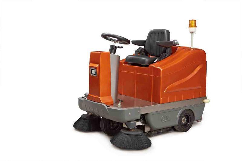 汉中电动扫地车_大型电动扫地车_电动室内扫地车