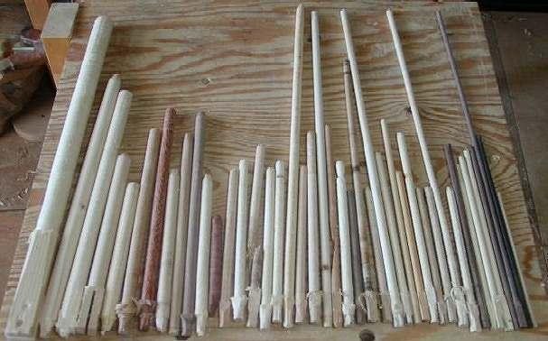 木棍制作手工艺品