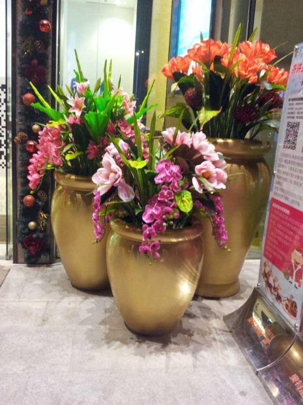 欧式:玻璃钢花盆