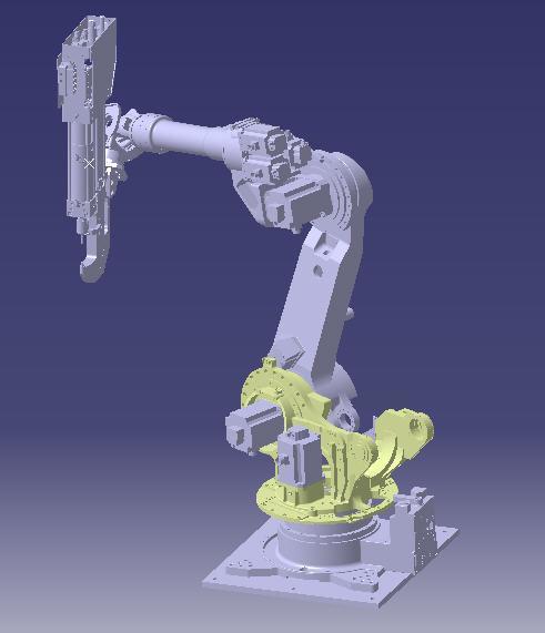 直接应用catia软体在3d环境下进行产品的机械结构设计.图片