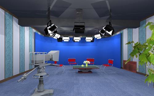 星辉演播室声学装修演播室蓝箱,抠像幕布,播音员提词器,演播室三基色冷光源,演播室LED冷光源聚光灯系统,魔术腿三脚架,气垫三角架,LED冷光灯平板灯系统及 批发价格