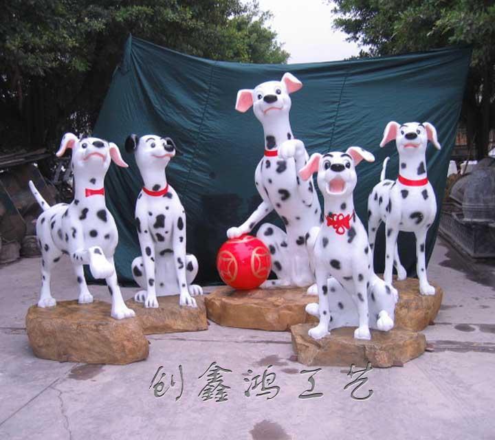 玻璃钢动物物造型艺术雕塑