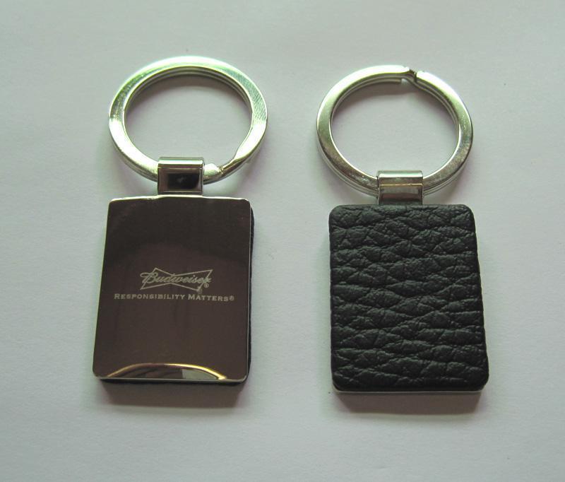 金属皮革钥匙扣
