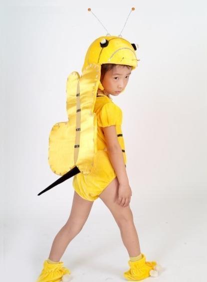 自制儿童表演服装图
