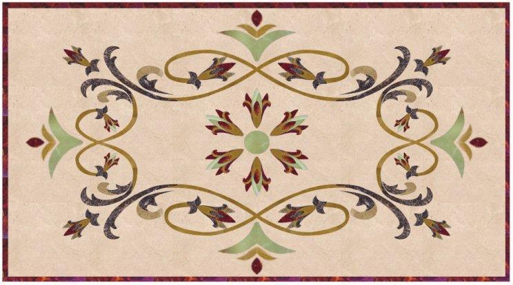欧式瓷砖拼花贴图