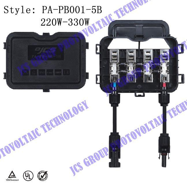 太阳能光伏接线盒(jcs-pa-pb001-5a/5b)