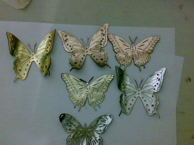 硬卡纸蝴蝶面具花纹图案设计