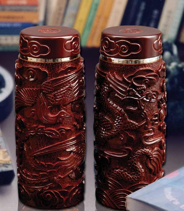 """""""手工雕刻工艺杯""""详细介绍        此工艺杯采用珍贵药用木材---柏"""