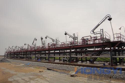 钢结构发油台(栈桥)