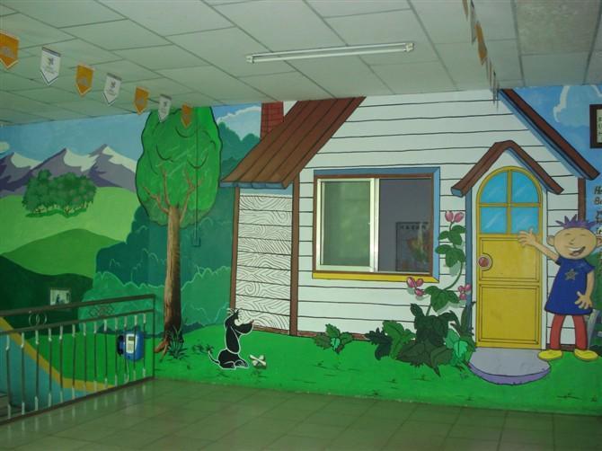 幼儿园墙体手工壁画【批发价格