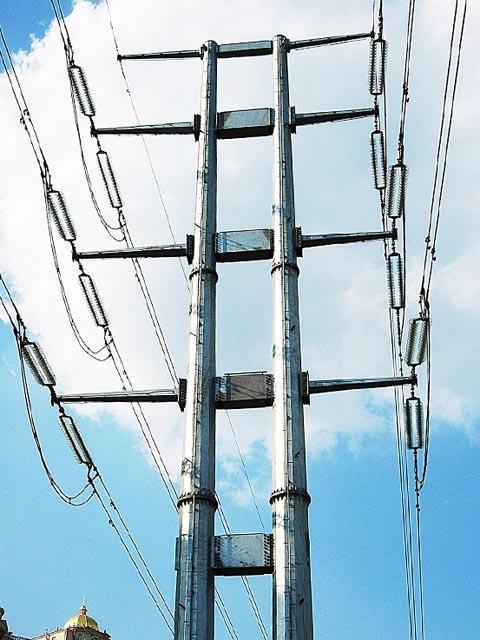 高压输送电线杆【批发价格