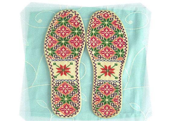 十字绣鞋垫花样大图纸