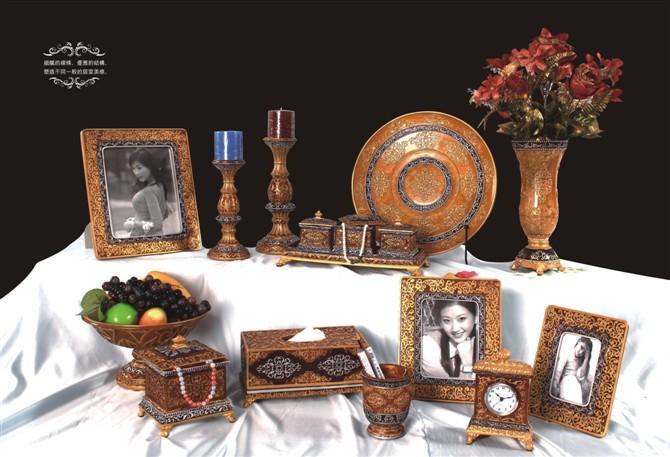 布达拉宫枣红色系列工艺品
