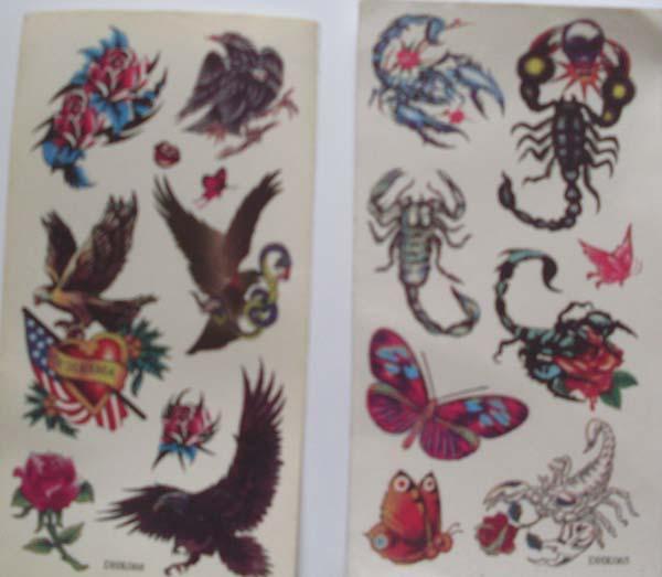 纹身贴纸【批发价格,厂家,图片,采购】-中国制造网,县