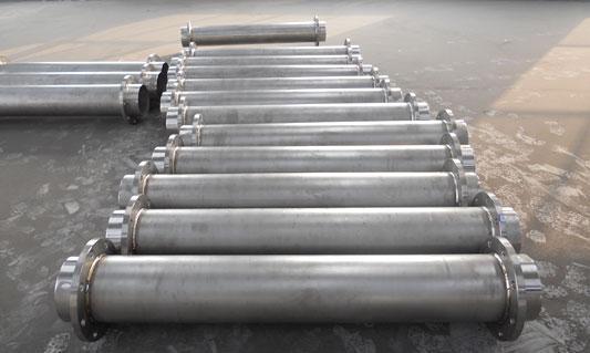 鈦合金管 東莞市新浦金屬材料有限公司 鈦是一種新型金屬,鈦的性能與所含碳、氮、氫、氧等雜質含量有關,最純的碘化鈦雜質含量不超過0.1%,但其強度低、塑性高。9.5%工業純鈦的性能爲:密度ρ=4.5g/立方厘米,熔點爲172 矽鈦合金耐磨地坪5,導熱係數λ=15.24W/(m.K),抗拉強度σb=539MPa,伸長率δ=25%,斷面收縮率ψ=25%,彈性模量E=1.