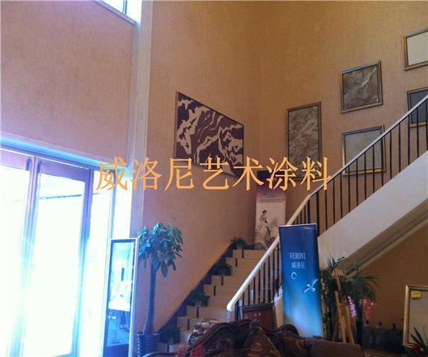 """中式风格的""""传统与现代""""都能在威洛尼艺术涂料系列产品"""