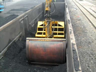 wys60卸冻煤的火车卸煤机