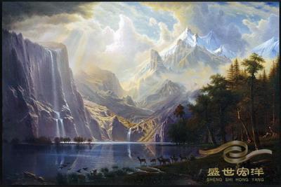 古典风景油画【批发价格