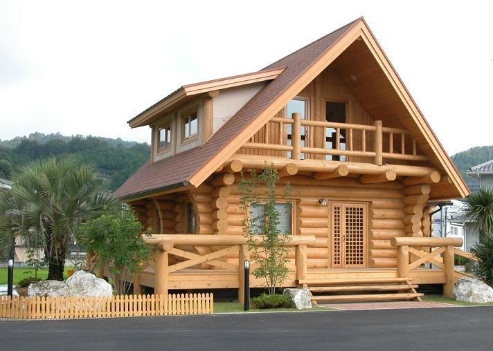 木屋别墅,度假木屋,园林景观