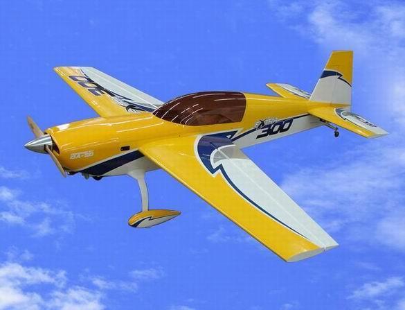 遥控飞机模型玩具(extra300-50cc)