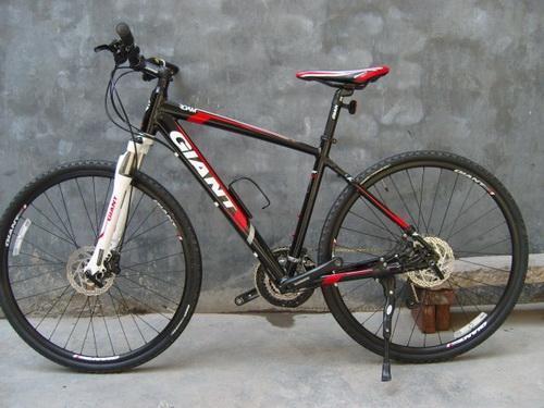 山地自行车前碟刹安装步骤