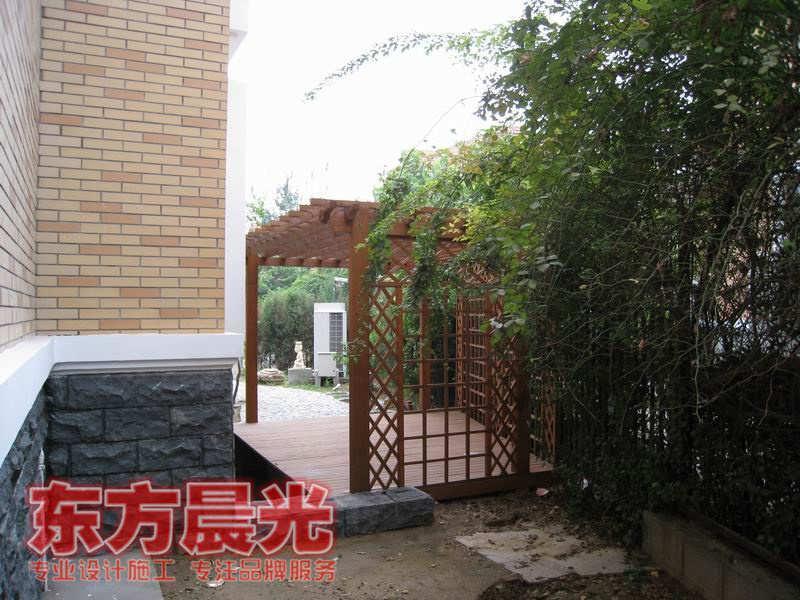 中式别墅庭院装修设计【批发价格