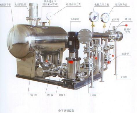 您提供专业的无负压自动变频供水设备