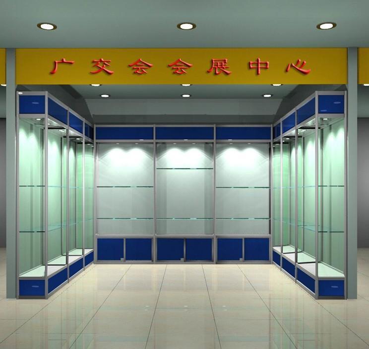 梯形展厅门窗设计平面图