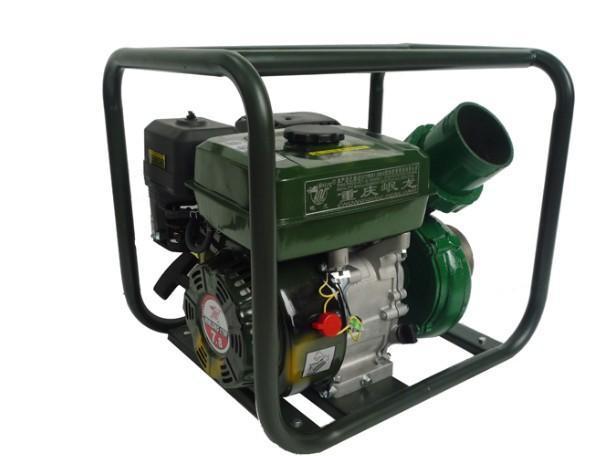 該泵是小型汽油機直聯高整離心泵,它具有體積小重量輕、結構緊湊、攜帶方便、隨地使用,宜用於農村、企業、建築、家庭、高壓洗車、養殖場沖洗等給水排水。