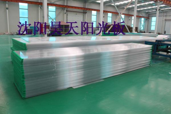 7)飞机场,工厂的安全采光材料.
