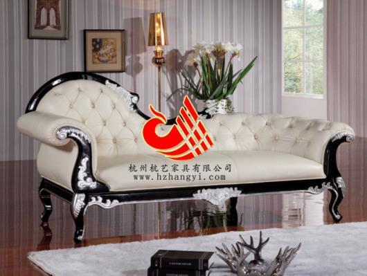 真皮欧式沙发