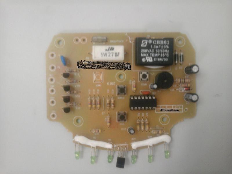 电风扇控制板开发