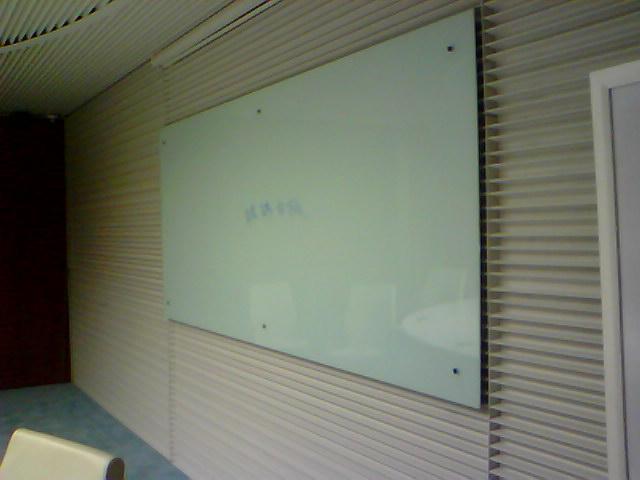 磁性玻璃白板图片