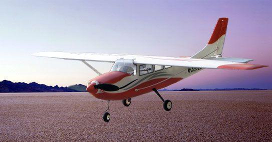 遥控飞机模型(塞斯纳t206)