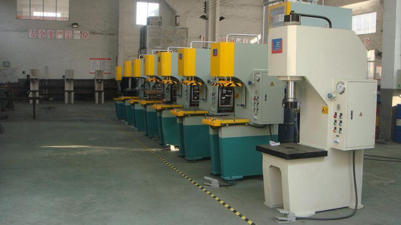 y41-25t单柱液压机图片
