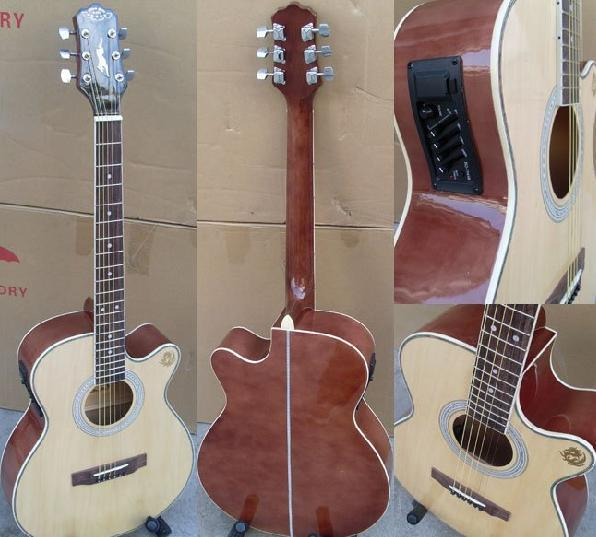 幼儿园手工吉他图片