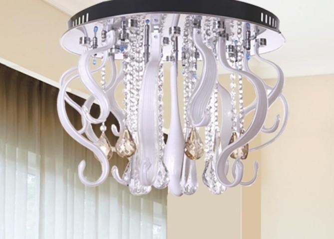 客厅平板水晶灯批发