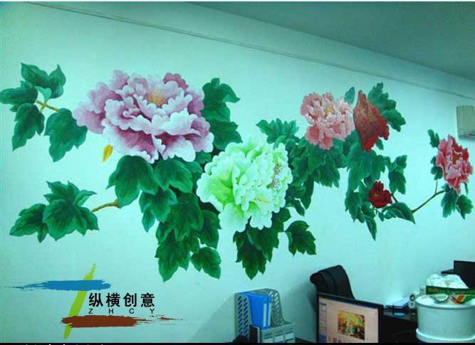 儿童房创意墙绘