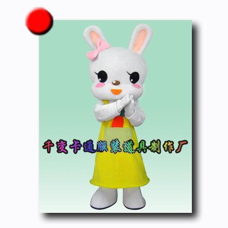 卡通企业形象吉祥物-十二生肖兔子