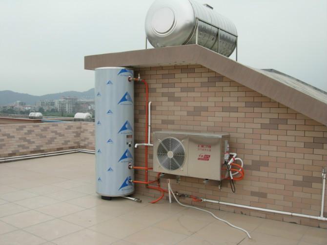 空气能热水器 效果图