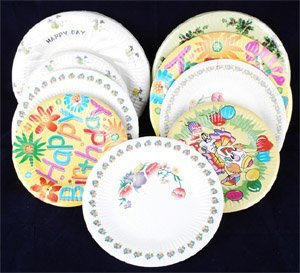 中秋节幼儿纸盘手工