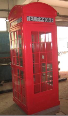 欧式电话亭装修