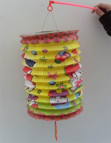 纸制灯笼矢量图