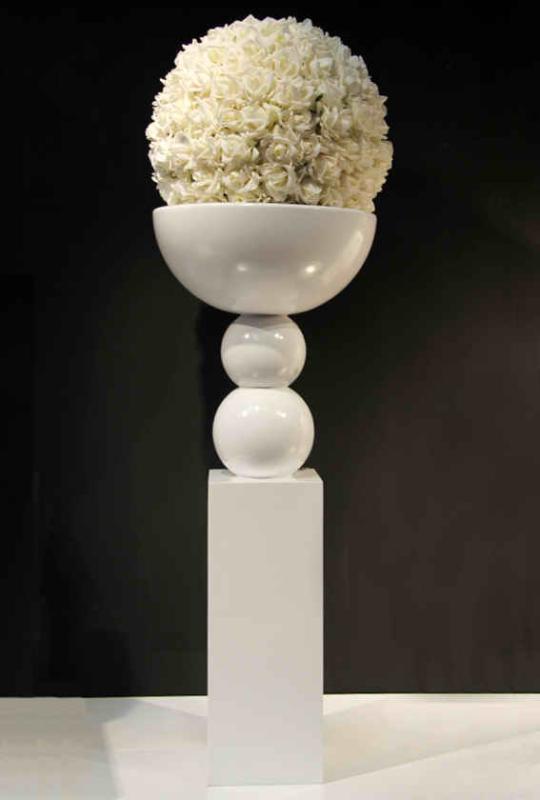 手工制作立体模型花瓶