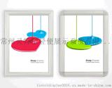 高品質開啓式鋁合金鏡框電梯海報框商場宣傳廣告框尺寸可定製